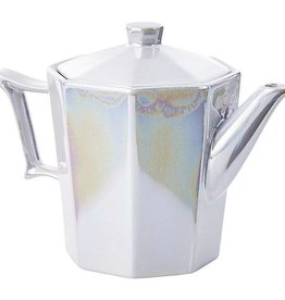 Pearlized Tea Pot