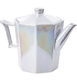 Pearlized Tea Pot