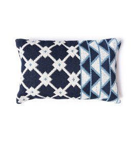 Tina Indigo Pillow