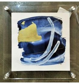 """City Lights"" Beth Winterburn art in acrylic frame"