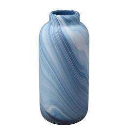 Swirl Vase Blue