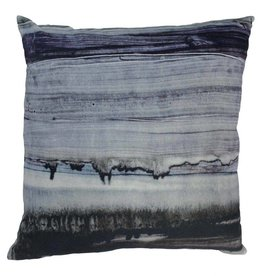Parallel Lines Velvet Pillow 25x25