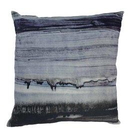 Parallel Lines Velvet Pillow 25x25