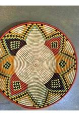 Uganda Raffia Millet Bowl