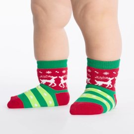 TACKY HOLIDAY SWEATER - TODDLER SOCK
