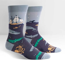 SEA VOYAGE - MENS CREW SOCK