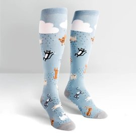 RAINING CATS AND DOGS - KNEE SOCKS