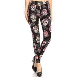 SUGAR SKULLS - PLUS LEGGINGS