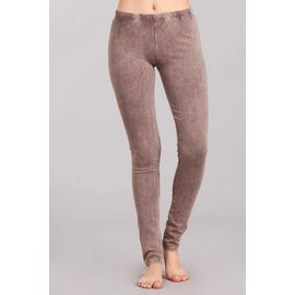 MINERAL WASH LEGGINGS DESERT TAUPE