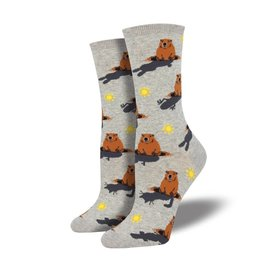 GROUNDHOG DAY SOCKS
