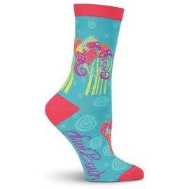 Laurel Burch Seahorse Socks