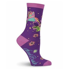 Laurel Burch Hummingbird Socks