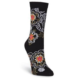 Laurel Burch Henna Flowers Socks