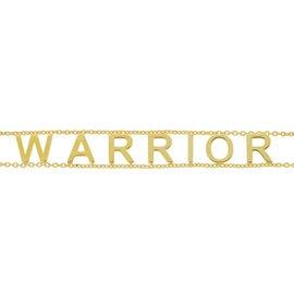 EMPOWERED WARRIOR GOLD BRACELET