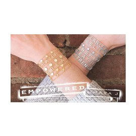 EMPOWERED BREATHE SILVER BRACELET