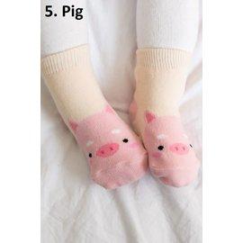 ZOO BABY SOCKS - PIG