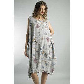 TEMPO SLEEVELESS FLORAL DRESS