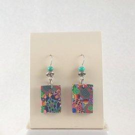 Kate's Polymer Earrings - #33