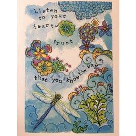 ART PRINT - LISTEN TO YOUR HEART