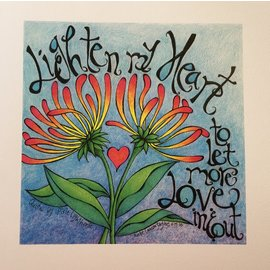LIGHTEN MY HEART ART PRINT