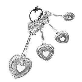 HEARTS MEASURING SPOONS