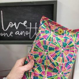 One Of A Kind Handmade Item Useful Little Bag - MOSAIC WHEELS