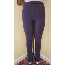 SOFT SOLID LEGGINGS  BROWN
