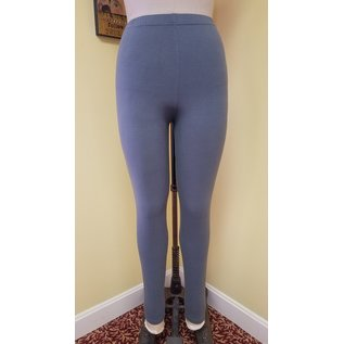 ONE SIZE SOLID CHARCOAL LEGGINGS