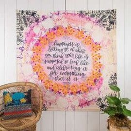 NATURAL LIFE HAPPINESS TAPESTRY
