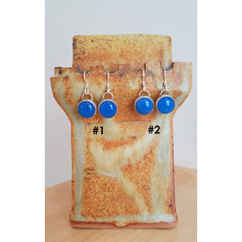 Seismic Silver Blue Onyx Candies Earrings by Seismic Silver