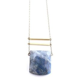 CRAFTS & LOVE LABRADORITE NECKLACE