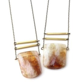 CRAFTS & LOVE CITRINE NECKLACE