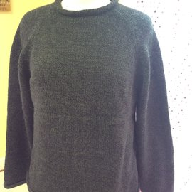 ROLL NECK SWEATER Hunter MEDIUM