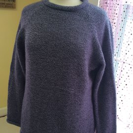 ROLL NECK SWEATER LILAC LARGE