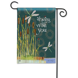 STUDIO M GARDEN FLAG - ALWAYS WITH YOU