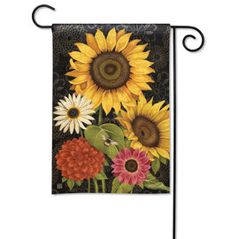 STUDIO M GARDEN FLAG - FRENCH FLOWERS