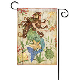 STUDIO M GARDEN FLAG - MERMAID