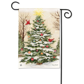 STUDIO M GARDEN FLAG - DECORATE THE TREE