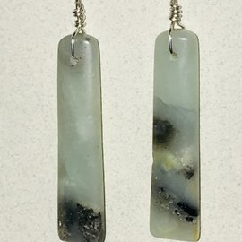 KAMALA DESIGNS LONG AMAZONITE EARRINGS #2