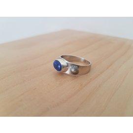 Seismic Silver Lapis Lazuli Ring by Seismic Silver