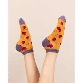 POWDER CHERRIES ANKLE SOCKS