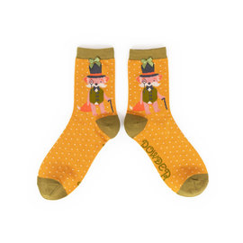 POWDER DAPPER FOX SOCKS