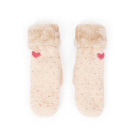 POWDER POLLY MITTENS - CREAM