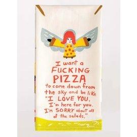 BLUE Q DISH TOWEL- PIZZA