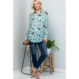 BIRD BLOUSE