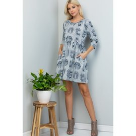 SALE!! OWL TUNIC DRESS-small only
