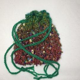 KAMALA DESIGNS Kate's Tiny Handknit Pouch #4