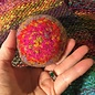 HAND KNIT FELTED BOWL #8