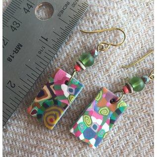 Kate's Polymer Earrings - #29
