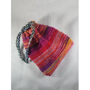 KAMALA DESIGNS HAND KNIT ORACLE CARD POUCH #16